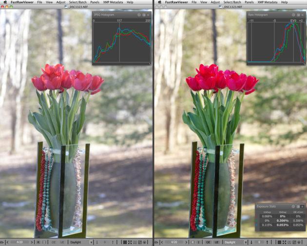 Цветокоррекция в FastRawViewer - ФайлЗебра.ру