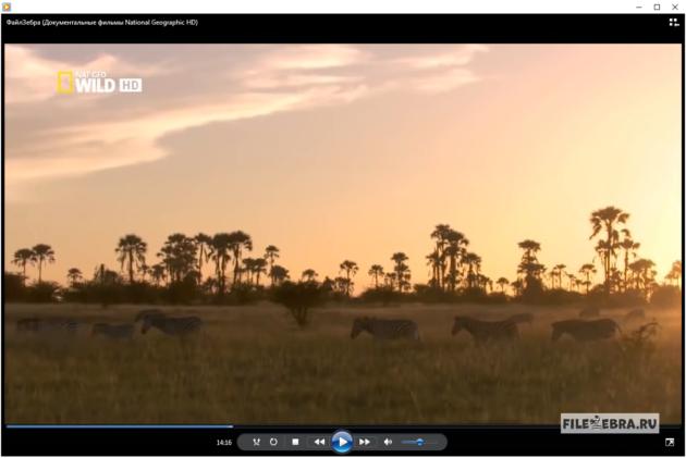 Просмотр видео в Windows Media Player (Виндовс Медиаплеер)